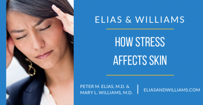 How Stress Affects Skin by dermatologists and skin scientists Peter M. Elias, M.D. and Mary L. Willams, M.D.
