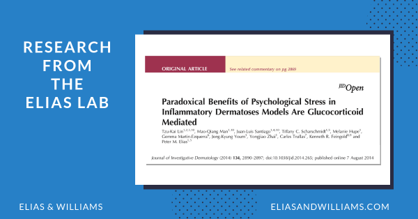 Paradoxical Benefits of Psychological Stress in Inflammatory Dermatoses Models are Glucocorticoid Mediated | The Elias Lab |
