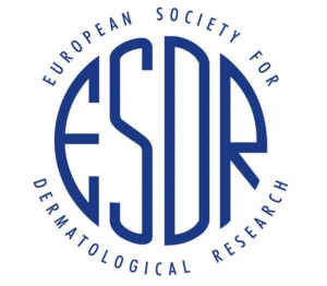 Logo of the European Society for Dermatological Research, who awarded Peter M. Elias, M.D. an Honorary Membership in recognition of his lifetime acheivements, on May 19, 2018 during the International Investigative Dermatology meeting in Orlando.