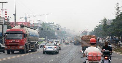 Urban smog in China
